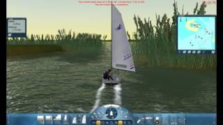 Sail Simulator sailing the Splash boat