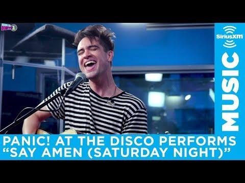 Panic! At the Disco  Say Amen Saturday Night