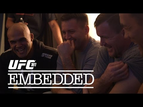 UFC 181 Embedded: Vlog Series - Episode 4