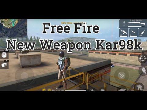 Free Fire - New Weapon - Kar98k