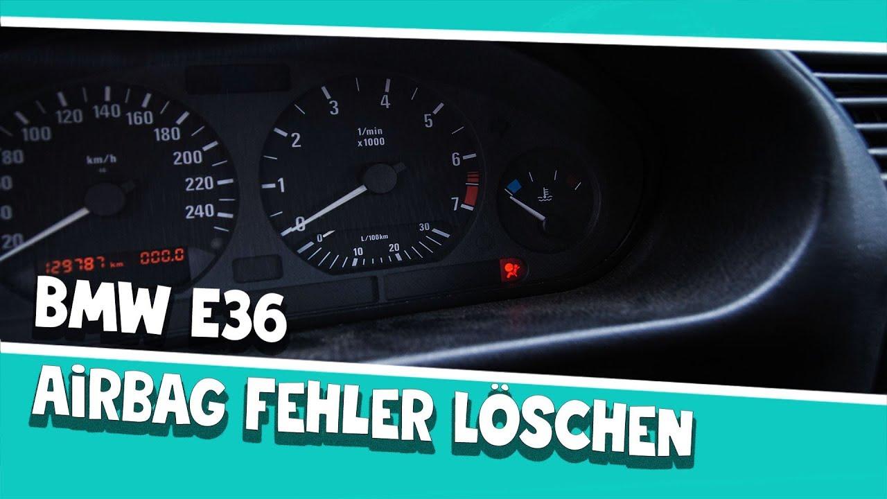 Airbag Fehler Löschen Bmw E36 Mit Inpa Youtube
