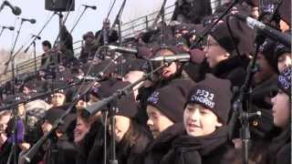 """On Top Of The World"" PS22 Chorus at 2013 Presidential Inauguration (by Imagine Dragons)"