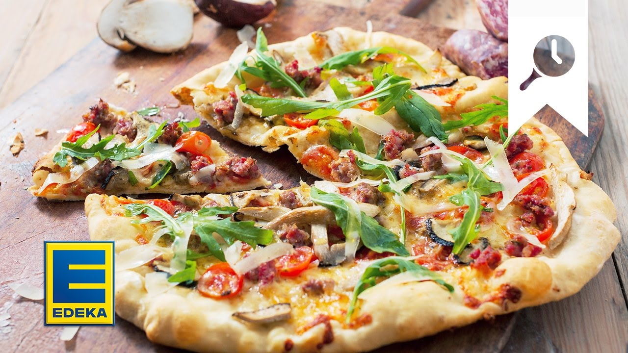 Pizza Backen Tutorial Edeka Youtube