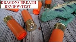 Dragons Breath 12 gauge ammo Wolf Hill Review Test Explosive Fireworks guage