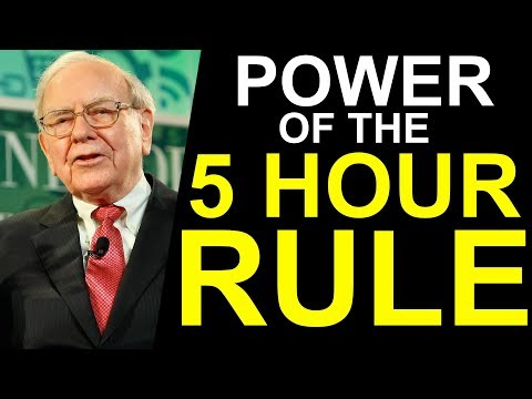 Why Successful People All Embrace the 5-Hour Rule
