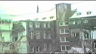 der abbruch des alten st agnes hospitals in bocholt