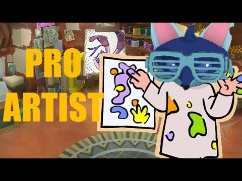 How To Be A PRO ARTIST In Animal Jam!