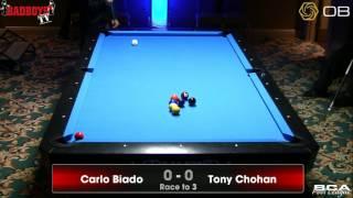 Carlo Biado vs. Tony Chohan