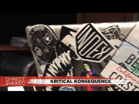 Kritical Konsequence Performs at Direct 2 Exec Los Angeles 8/8/17 - Atlantic Records