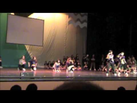 Playdolls in Trumpets Streetdancing 2009 - 2nd show