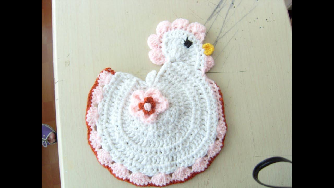 Agarraderas De Cocina En Crochet