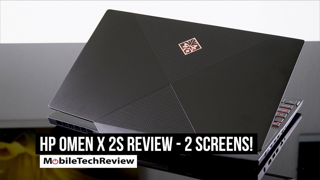 HP Omen X 2S Review - 2 Screen Gaming Laptop