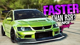 Need for Speed HEAT - Is The EVO IX FASTER Than the OVERPOWERED RSR?