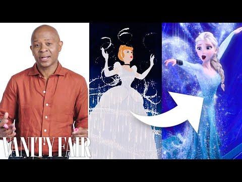 Disney Animation Designer Breaks Down Cinderella's Dress Transformation | Vanity Fair