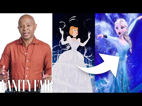Disney Animation Designer Breaks Down Cinderella's Dress Transformation | Vanity Fair