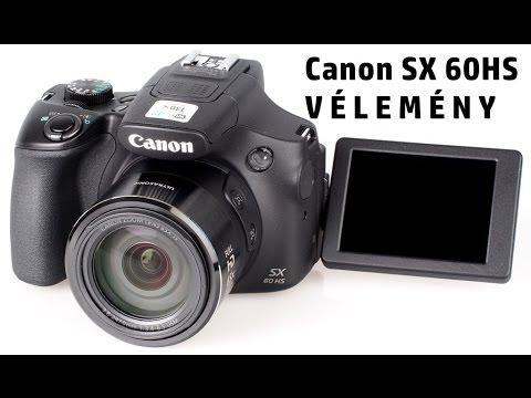 20b001a16675 Canon PowerShot SX60 HS vélemény magyarul - YouTube