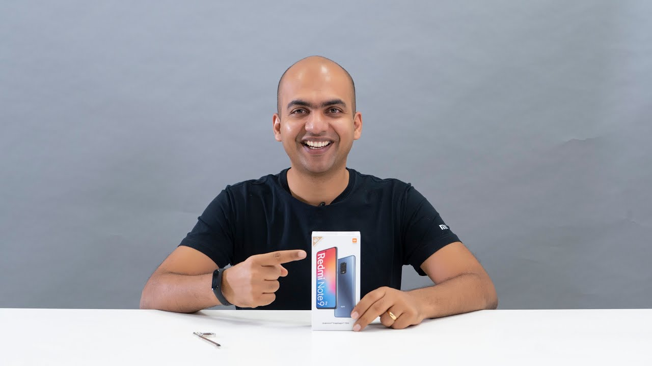 Redmi Note 9 Pro unboxing: the ultimate new all-rounder.