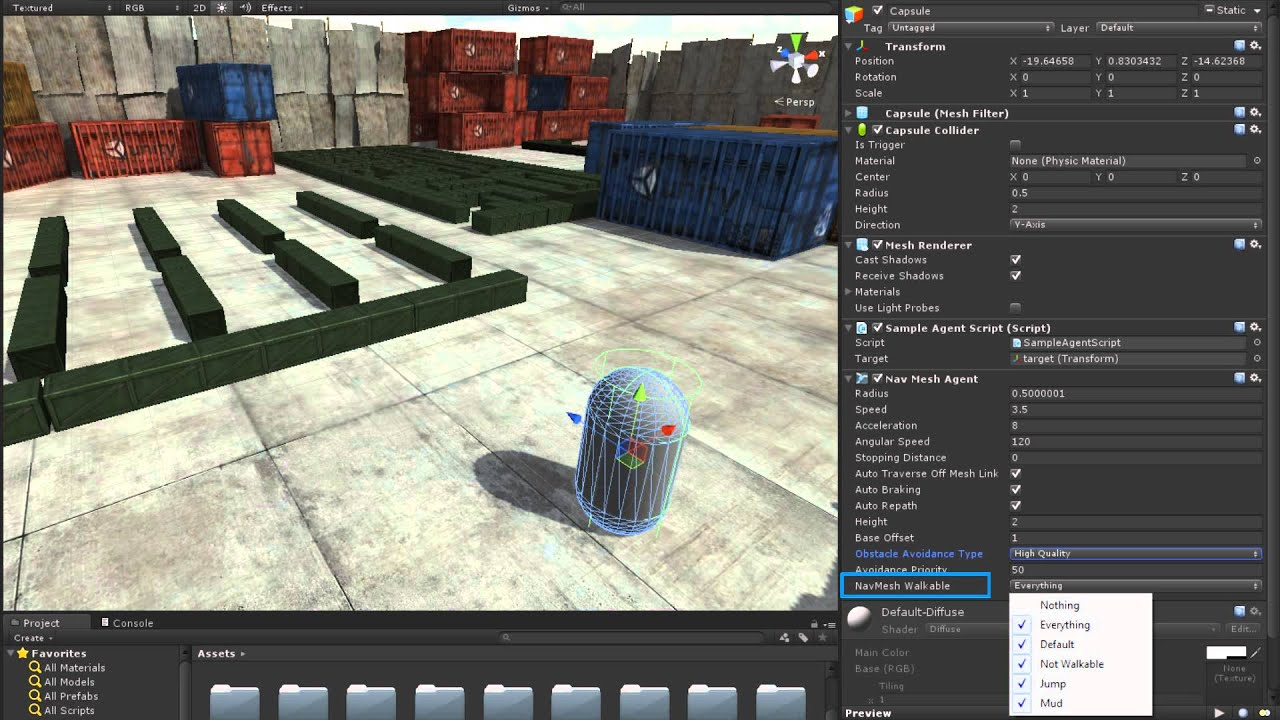 The NavMesh Agent - Unity Official Tutorials