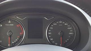 Remise A Zéro Indicateur De L'entretien Audi A3 Limousine