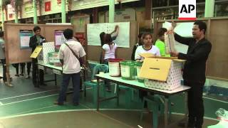 Yingluck Shinawatra says right to hold election, vital to democratic process