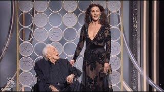 Kirk Douglas gets standing ovation at Golden Globes 2018