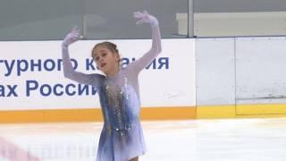 Алина Горбачева, Зональное Первенство России 2018 (младший возраст), ПП