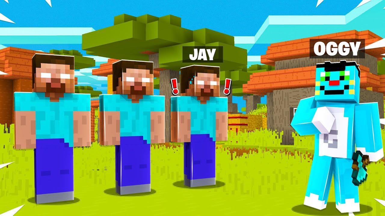 Download Playing HIDE And SEEK As HEROBRINE In Minecraft!