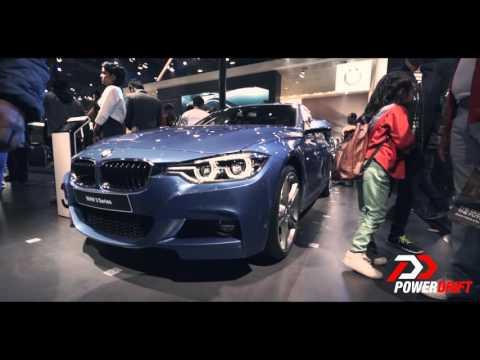 2016 BMW 3 Series : AutoExpo : PowerDrift