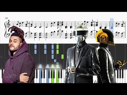 Can't Feel My Face / Get Lucky - Advanced Piano Mix (Tutorial + SHEETS)