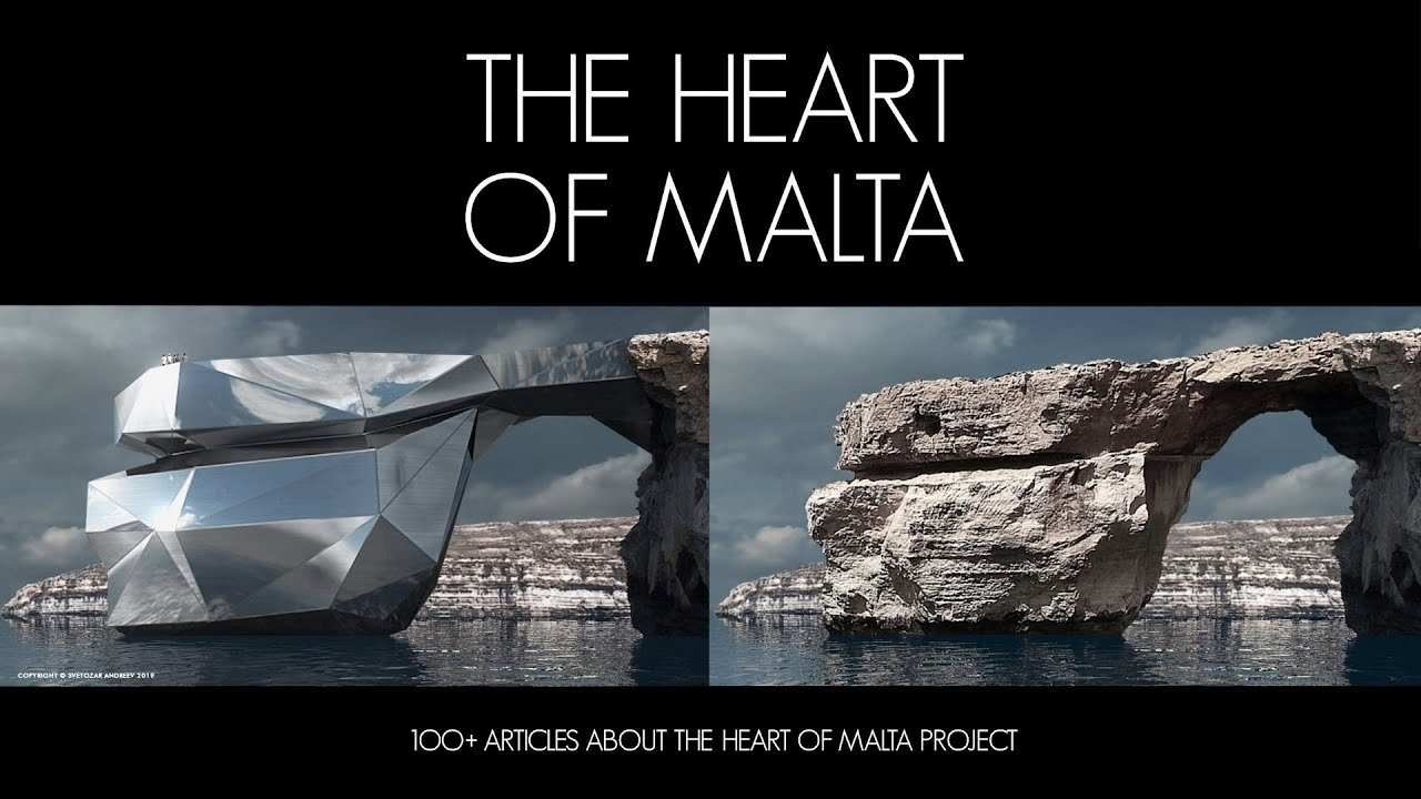 1OO+ ARTICLES ABOUT THE HEART OF MALTA PROJECT. ( Extended Version )
