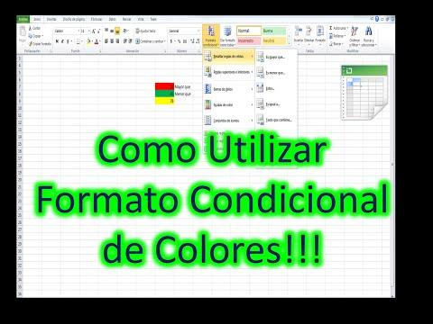 Excel 2007 formato condicional mediante fórmulas aplicado a un ...