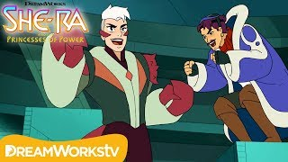 Seahawk Bonds with Enemy Scorpia | SHE-RA AND THE PRINCESSES OF POWER