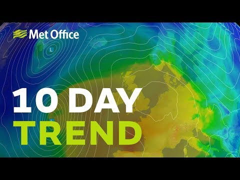 10 Day trend - Spring sunshine on the way 20/02/19