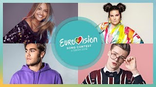 Eurovision Song Contest 2018 – My Top Songs