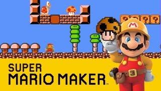 1-1 (Super Mario Bros. 2 Japan/The Lost Levels) - Super Mario Maker