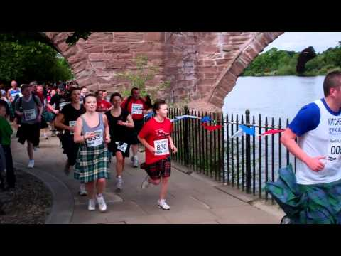 The Kilt Run Perth Perthshire Scotland Saturday June 2nd 2012