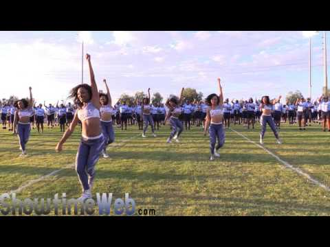 """JSU """"Everything / Coming To America"""" 2016 Jackson State Marching Band and Prancing J-Settes"""