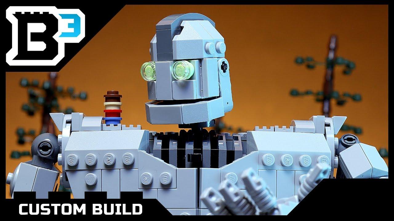 Custom LEGO Iron Giant - YouTube