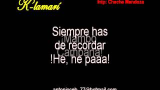 Karaoke Pensando en ti Cheche Mendoza