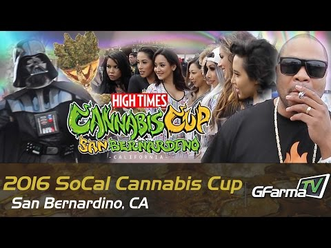 2016 SoCal Cannabis Cup ft. Xzibit, The Roots, and More! - San Bernardino, CA | Week 1