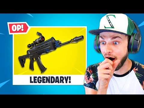 the *NEW* LEGENDARY gun!