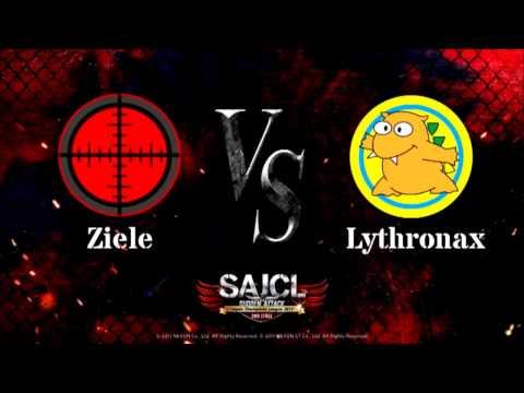 Ziele vs Lythronax  準決勝  第1MAP