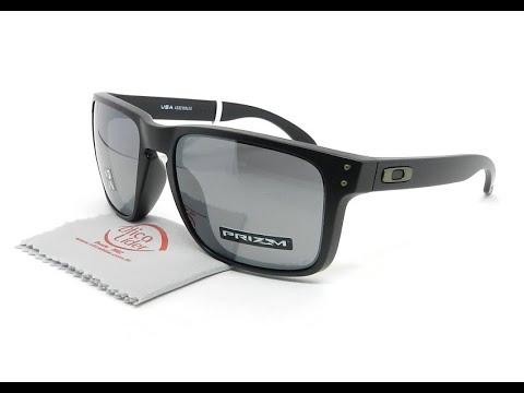 332c6e568aebd Oakley Holbrook XL OO9417 0559 59 Preto Semi-Espelhado Polarizado ...