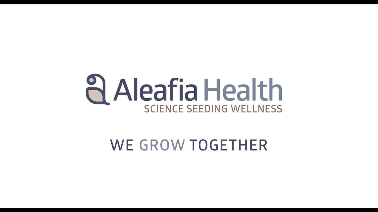 Aleafia Health Manifesto Play Button