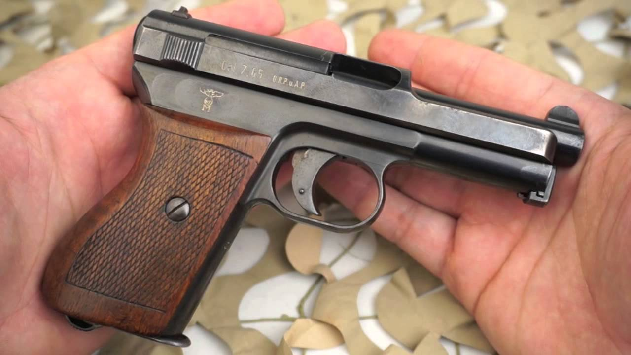 1934 Mauser  32 Nazi Navy Double Eagle Stamped Rare Pocket Pistol Overview  - Texas Gun Blog