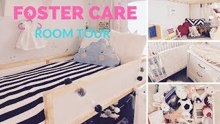 NURSERY TOUR | SHARED ROOM | FOSTER CARE ROOM TOUR