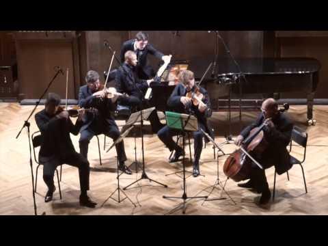 Franck - Piano Quintet. Франк - Фортепианный квинтет. Квартет им. Глинки. Павел Нерсесьян