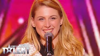 GOLDEN BUZZER - Laura Laune -  France's Got Talent 2017