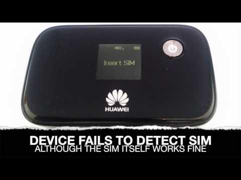 Huawei E5776 MIFI Sim Card Reader Connector Repair Solution - Fix Insert  Sim Error Service