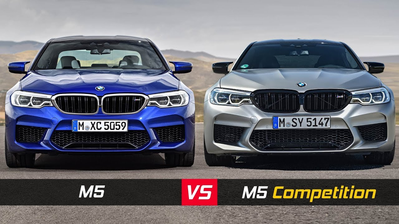 2019 Bmw M5 Vs M5 Competition See The Differences